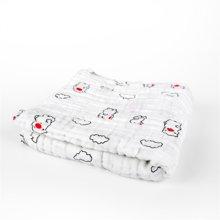 卓理/zolitt 婴儿盖被纯棉秋冬加厚纱布毯子宝宝浴巾毛巾被儿童加厚盖毯
