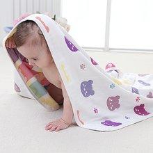 妈唯乐Marvelous Kids 6层婴幼儿棉纱双面印花盖毯多功能被120*115cm