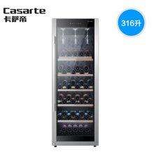 海尔冰吧卡萨帝冰吧红酒柜冷藏柜家用316升Haier/海尔 JC-316BPU1