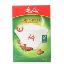 美乐家(melitta)1X4咖啡滤纸 (40片装)