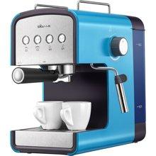 Bear小熊 KFJ-A13H1咖啡机 高压萃取双出口 蒸汽奶泡花式咖啡机