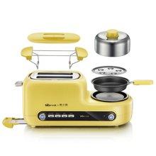 【黄小厨】Bear/小熊多士炉DSL-A02Z1黄小厨 多功能多士炉早餐机吐司机 煮蛋器蒸蛋煎蛋