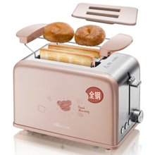 烤面包机家用2片早餐多士炉Bear小熊 DSL-A02U1土司机全自动吐司