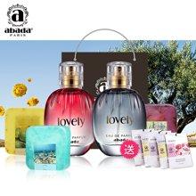 法国abada雅比特可爱系列大礼包香水