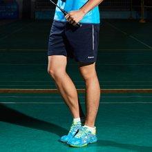 川崎(KAWASAKI) 羽毛球服运动短裤男女款比赛裤子喜欢透气速干