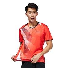 川崎(KAWASAKI) 羽毛球服夏季情侣短袖运动服速干透气