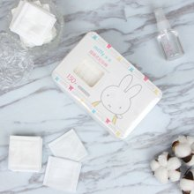 米菲插袋式化妆棉 卸妆棉 150片