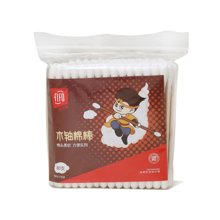 菲尔芙袋装棉签(木棒)(80支)