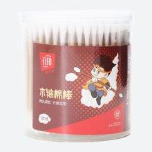 菲尔芙圆筒棉签(木棒)(180支)