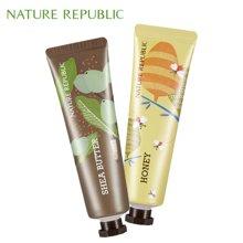 纳益其尔Nature Republic自然护肤乐园手与自然护手霜30ml*2 乳木果 蜂蜜