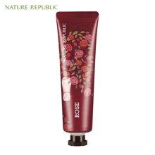 Nature Republic纳益其尔(自然护肤乐园)手与自然玫瑰护手霜 30ml