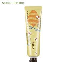 Nature Republic纳益其尔(自然护肤乐园)手与自然蜂蜜护手霜 30ml
