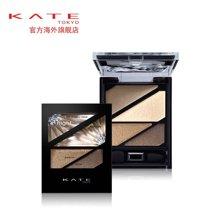 KATE/凯朵新品暗夜光感眼影盘 打造深邃光泽四色眼影