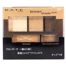 日本KATE 凯朵 3D棕影立体眼影盒N