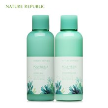 Nature Republic纳益其尔(自然护肤乐园)波利尼西亚保湿水乳套装180ml*2