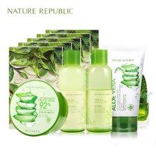 Nature Republiuc清新绿茶控油净颜礼盒
