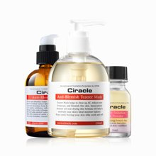 韩国Ciracle稀拉克儿控油祛痘去粉刺套装三件套长效呵护肌肤加赠祛黑头皂