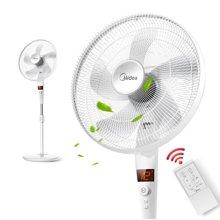 美的(Midea)FS40-17JRW 电风扇 家用静音变频落地扇智能遥控立式办公室省电