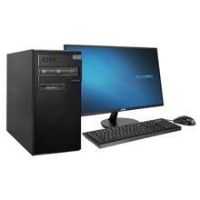 华硕(ASUS) BM2CD 台式电脑(奔腾双核 G44004G内存500G硬盘PCI串口 win10)+21.5英寸显示器 原装电脑,开机可用!