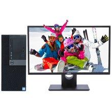 戴尔(DELL)OptiPlex 7040MT 商用台式电脑 i7-6700四核 4G 1TB 2G独显 主机+23英寸显示器