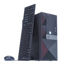 戴尔(DELL)Vostro3668-R1938台式机电脑主机  2年上门 (i7-7700/8G/1T+128G/DVDRW/ GTX745 4G/WIN10)定制高端单主机
