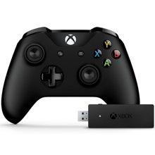 微软(Microsoft) Xbox One S游戏手柄 电脑pc蓝牙手柄 Xbox手柄 电脑PC无线套装 含接收器