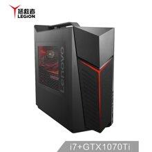 联想(Lenovo)拯救者刃9000Ⅱ UIY吃鸡游戏台式电脑主机(I7-8700K 水冷 16G 2T+256G SSD GTX1070Ti 8G )