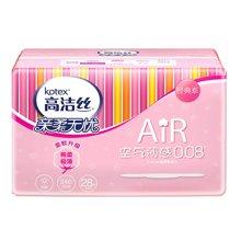 !¥高洁丝经典系列AIR极薄棉柔卫生巾日用(240mm*28片)