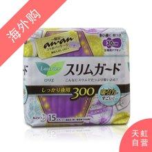 日本花王LAURI乐而雅夜用护翼型卫生巾30cm(15片)