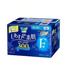 日本花王LAURI乐而雅夜用清爽瞬吸护翼卫生巾(10片)