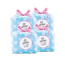 英国直邮 4包装 英国 LIL-LETS/丽尔莱思 少女防渗漏日用卫生巾 不含荧光剂(14片/包)