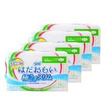 【4包装】日本尤妮佳苏菲日用卫生巾21cm* 25片/包
