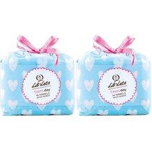 英国直邮 2包装 英国 LIL-LETS/丽尔莱思 少女防渗漏日用卫生巾 不含荧光剂(14片/包)