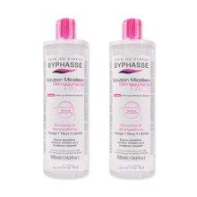 【2瓶装】【西班牙】Byphasse蓓昂斯四效合一深层卸妆洁肤水500ml