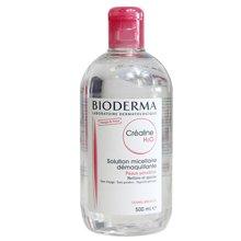 法国 Bioderma贝德玛 舒妍温和保湿卸妆水500ml 粉水(国际版)