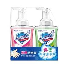 舒肤佳泡沫抗菌洗手液(青苹果香型+樱花香型)组合CX(225ml+225ml)