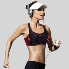 YVETTE薏凡特高强度防震运动内衣女跑步健身bra无钢圈背心胸衣大码文胸