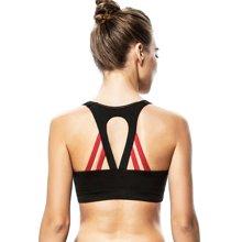 Yvette薏凡特中强度运动内衣女士无钢圈舒适透气舞蹈背心式文胸M0600001