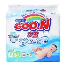 GOO.N(大王)环贴式纸尿裤E系列S号 YC1 NC2(84片)