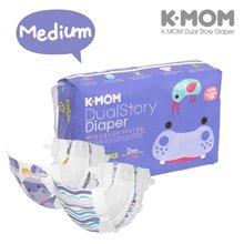 【韩国进口现货】K-MOM故事纸尿裤 M码(7-11KG)60片