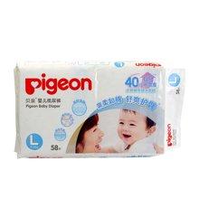Pigeon/贝亲 真绵实感L码58片婴儿纸尿裤 6952703700753