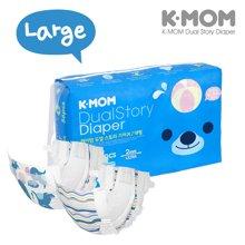 【韩国进口现货】K-MOM故事纸尿裤 L码(10-14KG)56片