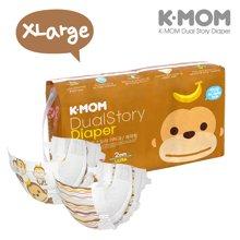 K-MOM 故事纸尿裤  XL码 - 52片【韩国进口现货】