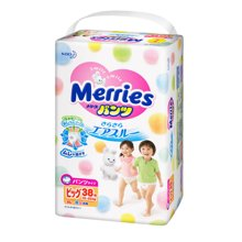 SNMerries 日本花王拉拉裤 XL码 加大码(38片)