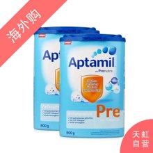 【2罐装】德国Aptamil爱他美婴幼儿配方奶粉Pre段(800g)