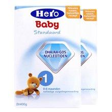 【2罐装】荷兰Hero Baby奶粉1段(0-6个月宝宝)(800g)