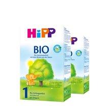 【2盒装】德国喜宝Hipp Bio有机奶粉(0-6个月宝宝)1段 600g