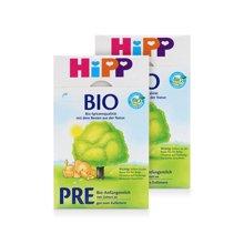 【2盒装】德国喜宝 Hipp有机奶粉 pre段(0-6个月)600g