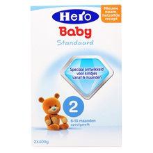 Hero baby荷兰奶粉2段800g(6-10个月)