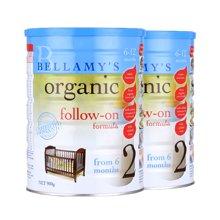 【2罐装】Bellamys贝拉米 有机奶粉2段 900g